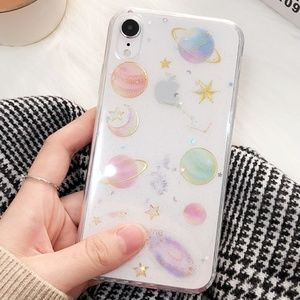 NEW iPhone X/XS Moon, Stars, and Planets Case